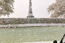 Wieder einmal Schnee