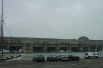 Der alte deutsche U-Boot Bunker