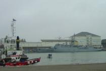 Im Hafen von St. Nazaire