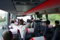 ab in den Bus nach St. Nazaire