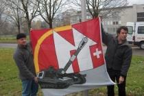 Schön die Fahne