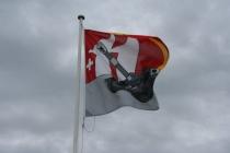 die berühmte Fahne