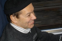 Kuno im Zug