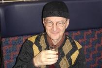 Martin im Zug