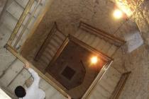 in den kalten Hallen des Schlosses
