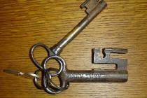 Der Schlüssel zum Krummen Turm zu Solothurn
