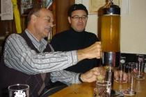 Tanken in der Öufi Brauerei